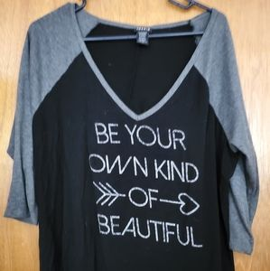 Black And Gray T Shirt